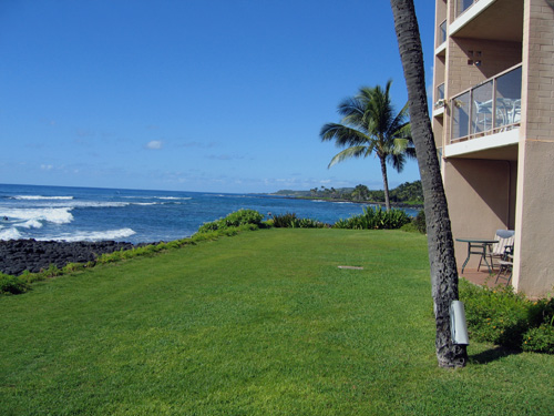 West View of Ocean from Lanai