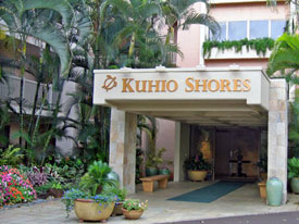 Kauai Kuhio Shores Entry