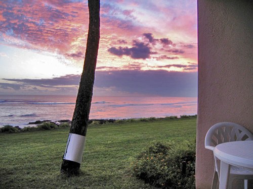 Enjoy a sunset from Lanai